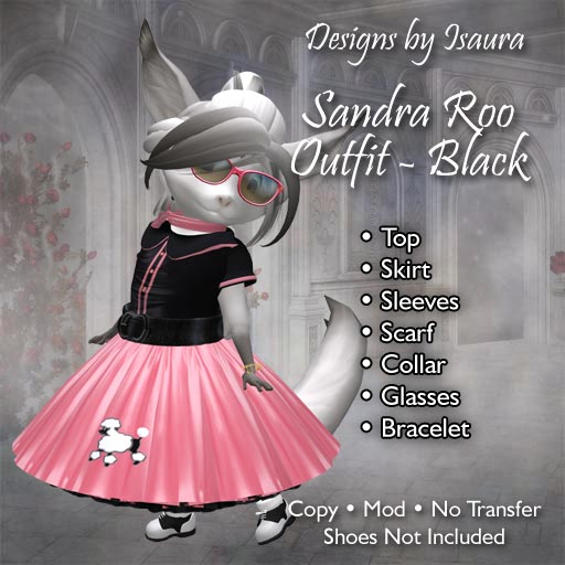 Sandra Roo Outfit Black
