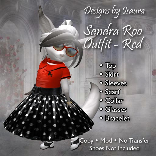 Sandra Roo Outfit Red