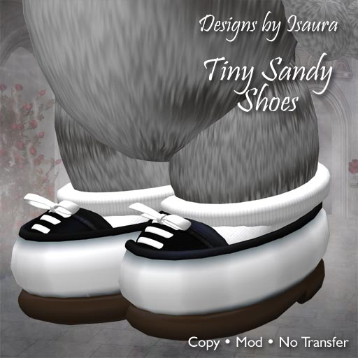 Tiny Sandy Shoes