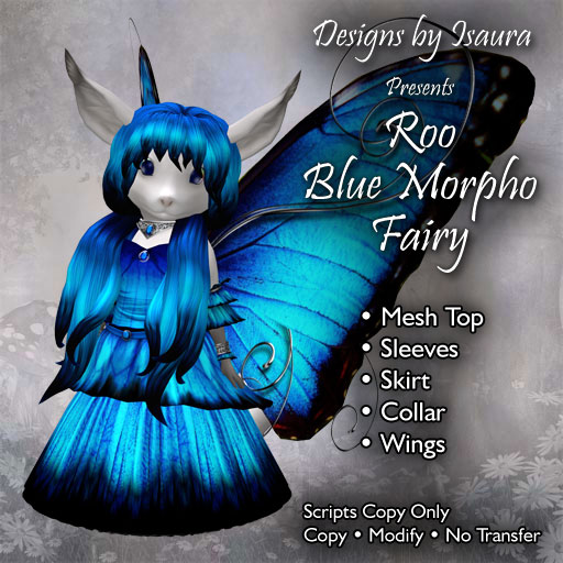 Roo Blue Morpho Fairy