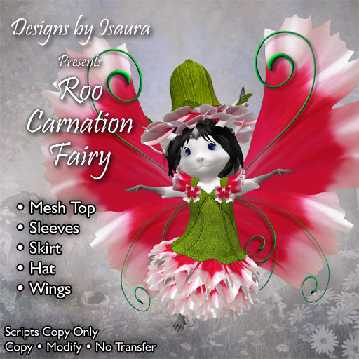 Roo Carnation Fairy