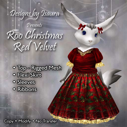 Roo Christmas Red Velvet