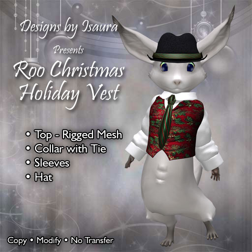 Christmas Holiday Vest