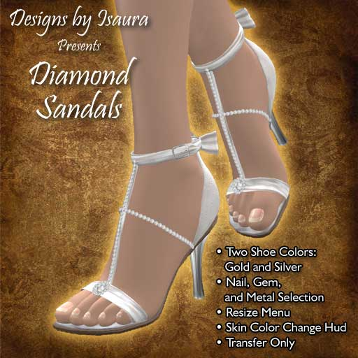 Diamond Sandals