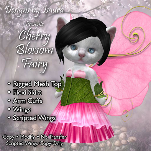 Dinkies Cherry Blossom Fairy