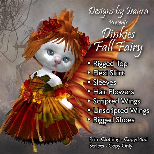 Dinkies Fall Fairy