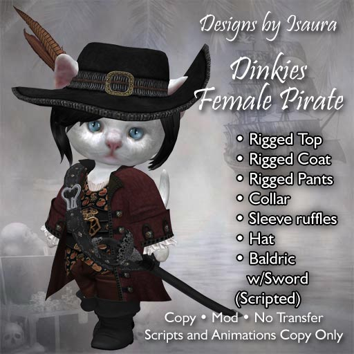 Dinkies Female Pirate