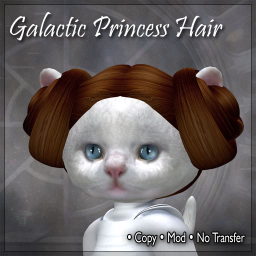 Galactic Princess Hair