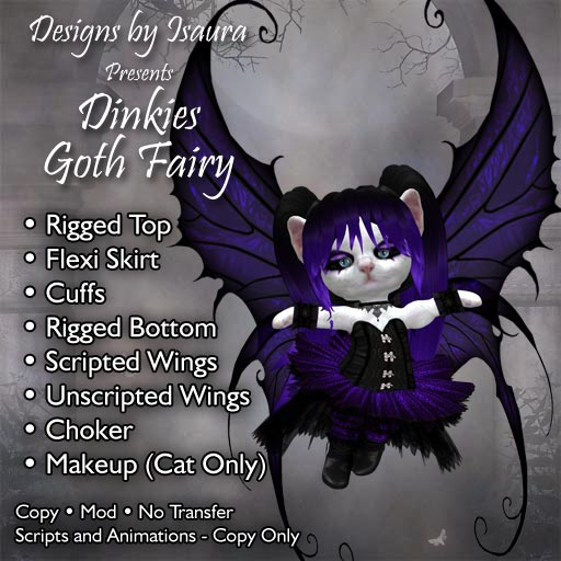 Dinkies Goth Fairy