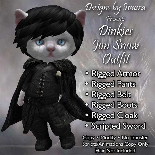 Dinkies Jon Snow Outfit