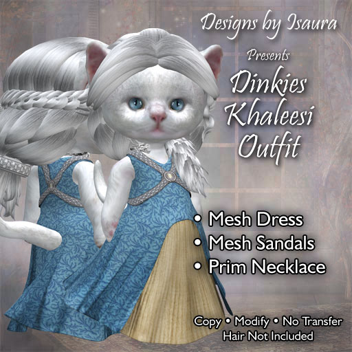 Dinkies Khaleesi Outfit