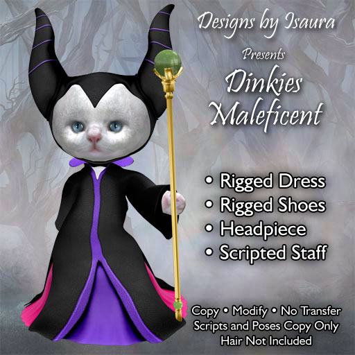 Dinkies Maleficent