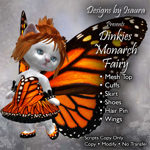 Dinkies Monarch Fairy