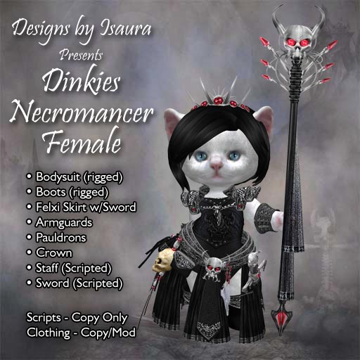 Dinkies Necromancer Female