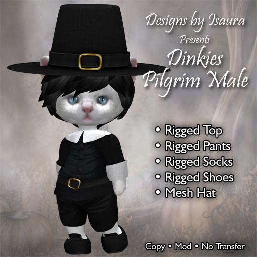Dinkies Pilgrim Male