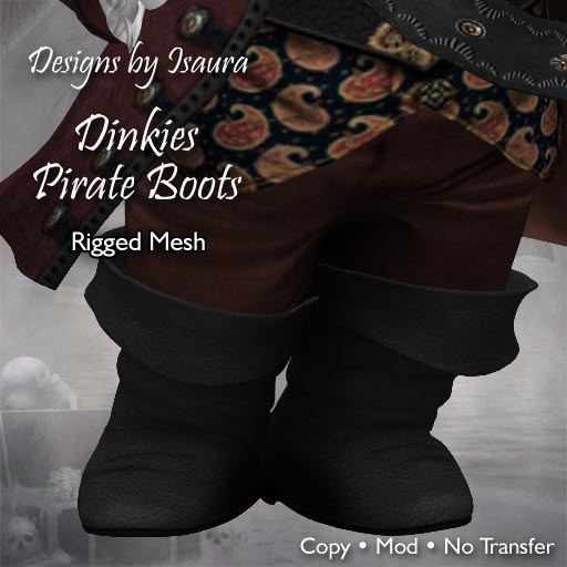 Dinkies Pirate Boots