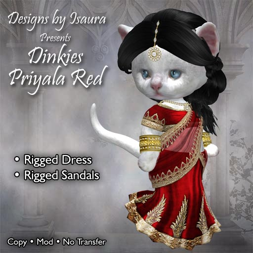 Dinkies Priyala Red