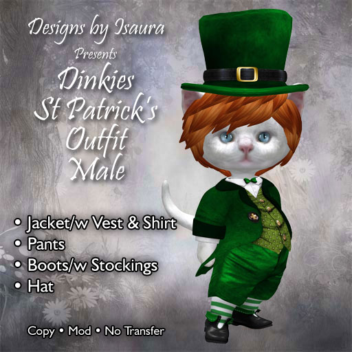 Dinkies St Patrick's male