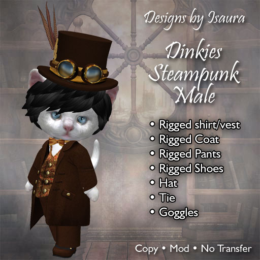 Dinkies Steampunk Male