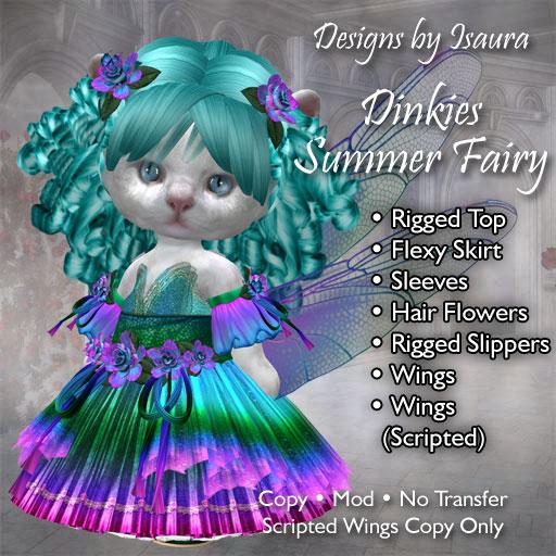 Dinkies Summer Fairy