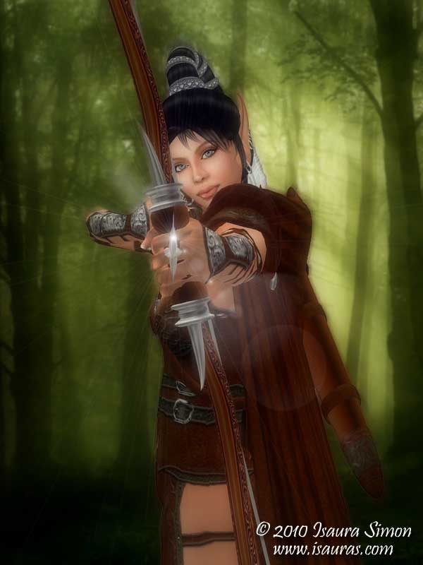 elven-archer-art