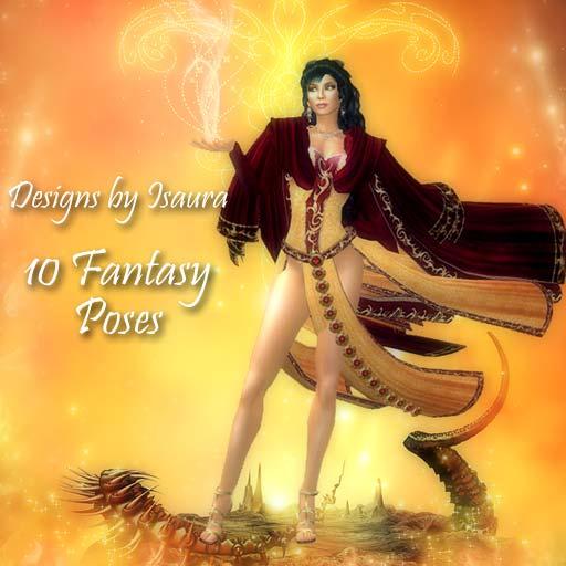 10 Fantasy Poses