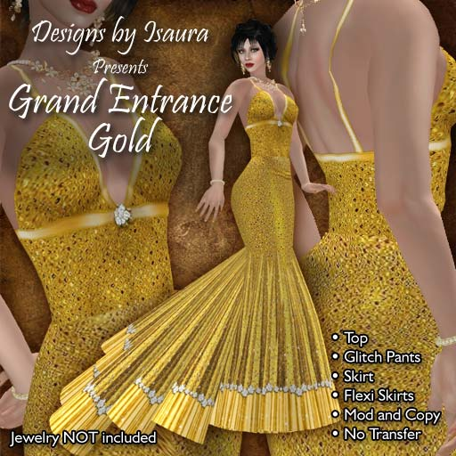 Grand Entrance Gold