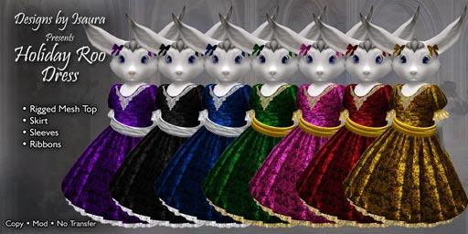 Roo Holiday Dress