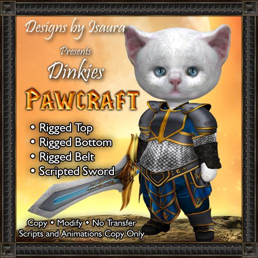 Dinkies Pawcraft