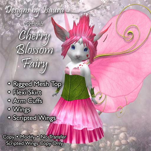 Roo Cherry Blossom Fairy