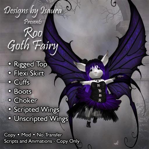 Roo Goth Fairy