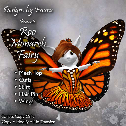 Roo Monarch Fairy