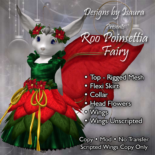 Roo Poinsettia Fairy