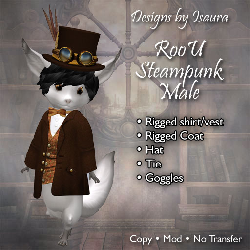 RooU Steampunk Male