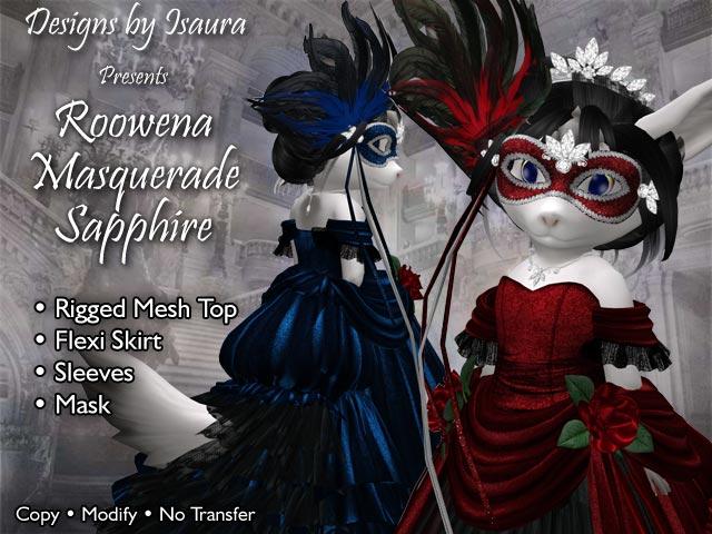 Roowena Masquerade Gown