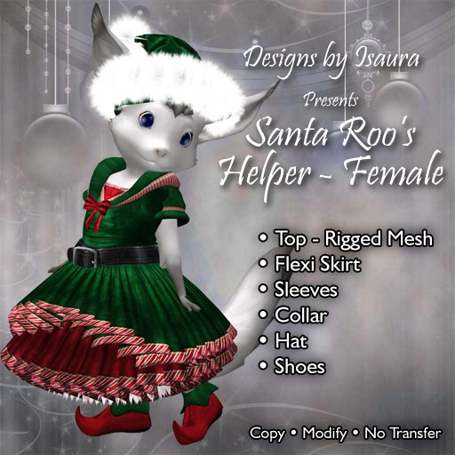 Santa Roo's Helper Female