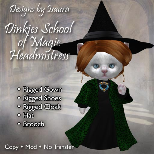 Dinkies School of Magic Headmistress
