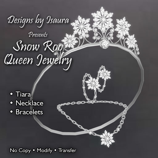 Snow Roo Queen Jewelry