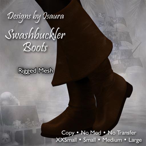 Swashbuckler Boots