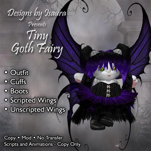 Tiny Goth Fairy