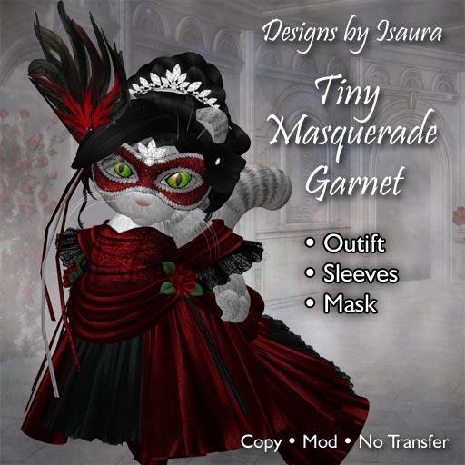 Tiny Masquerade Garnet