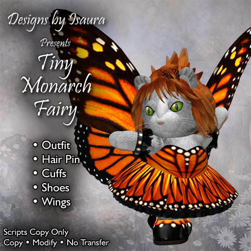 Tiny Monarch Fairy