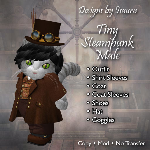 Tiny Steampunk Male