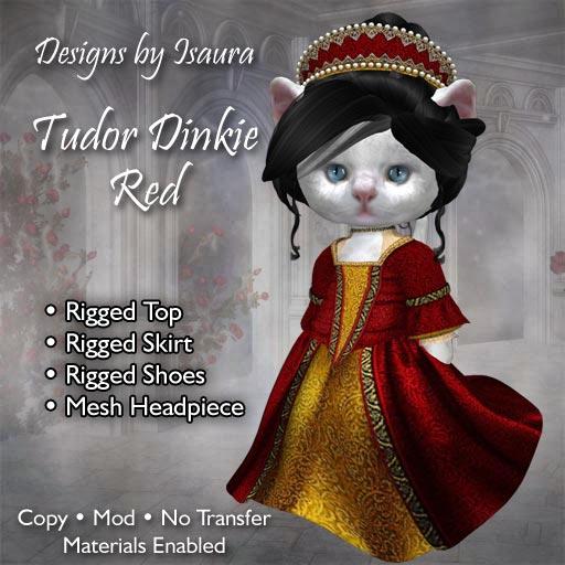Tudor Dinkie Red