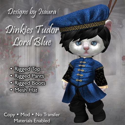 Tudor Dinkie Lord Blue