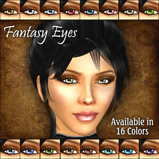 Fantasy Eyes for Second Life
